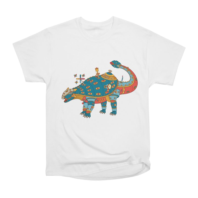 Dinosaur, cool art from the AlphaPod Collection Men's Classic T-Shirt by AlphaPod