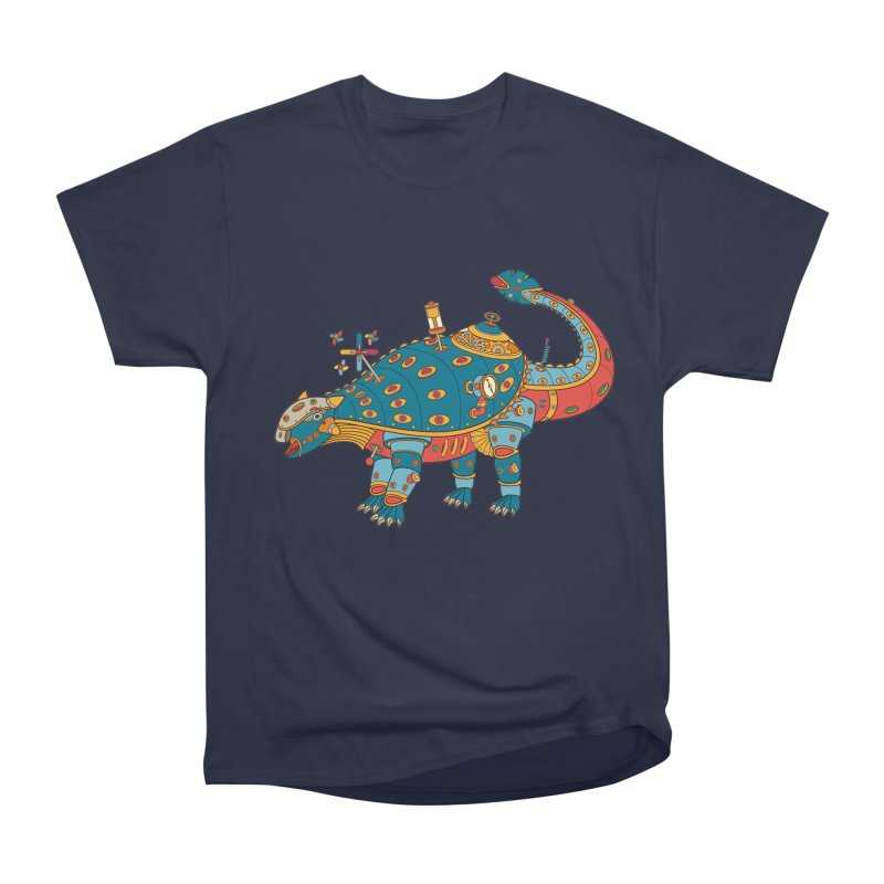 Dinosaur, cool art from the AlphaPod Collection Men's Heavyweight T-Shirt by AlphaPod