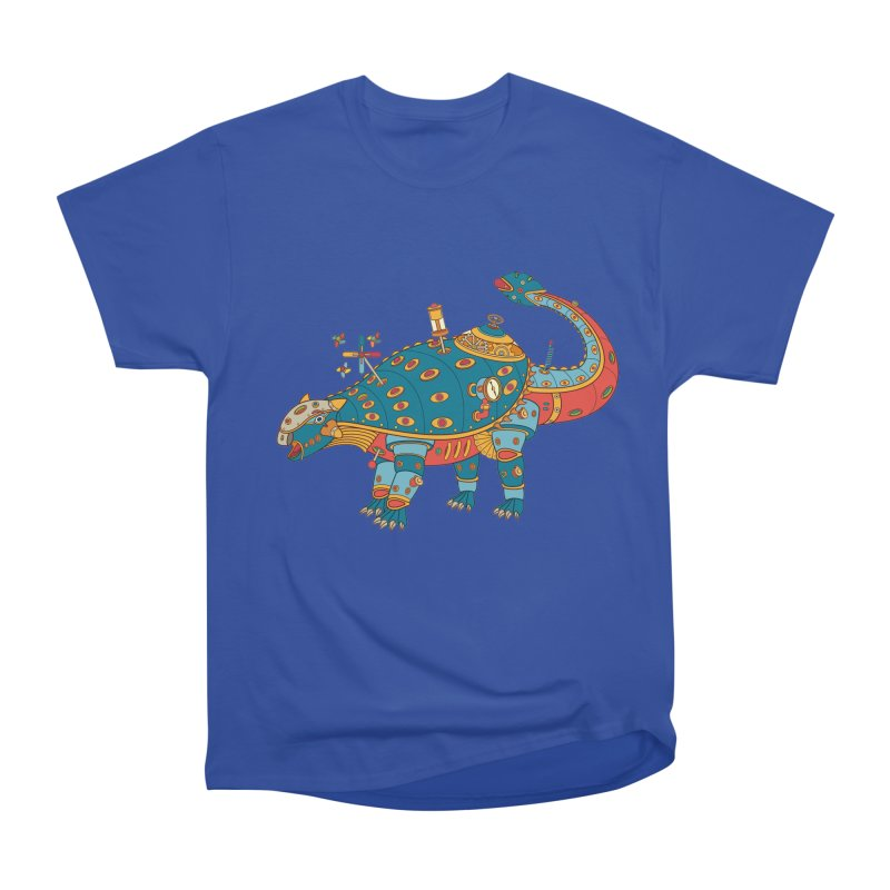 Dinosaur, cool art from the AlphaPod Collection Men's Heavyweight T-Shirt by AlphaPod
