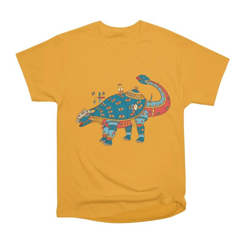 Dinosaur, cool art from the AlphaPod Collection Women's Heavyweight Unisex T-Shirt by AlphaPod