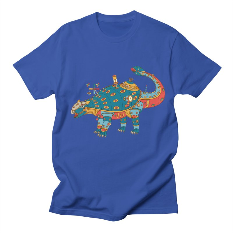 Dinosaur, cool art from the AlphaPod Collection Women's Regular Unisex T-Shirt by AlphaPod