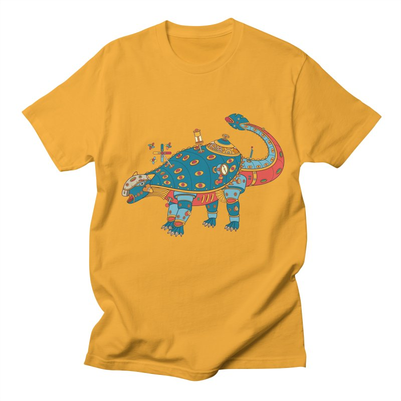 Dinosaur, cool art from the AlphaPod Collection Men's T-Shirt by AlphaPod