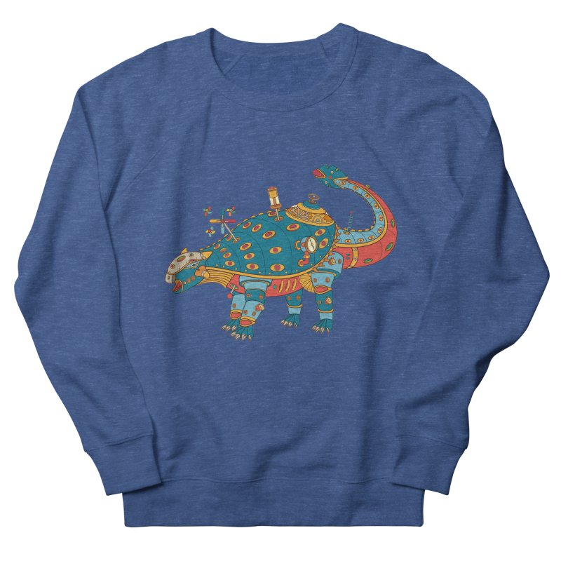 Dinosaur, cool art from the AlphaPod Collection Men's Sweatshirt by AlphaPod