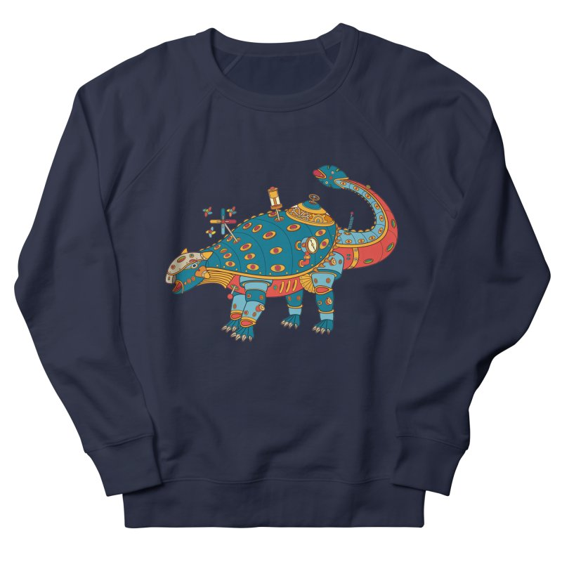 Dinosaur, cool art from the AlphaPod Collection Men's French Terry Sweatshirt by AlphaPod