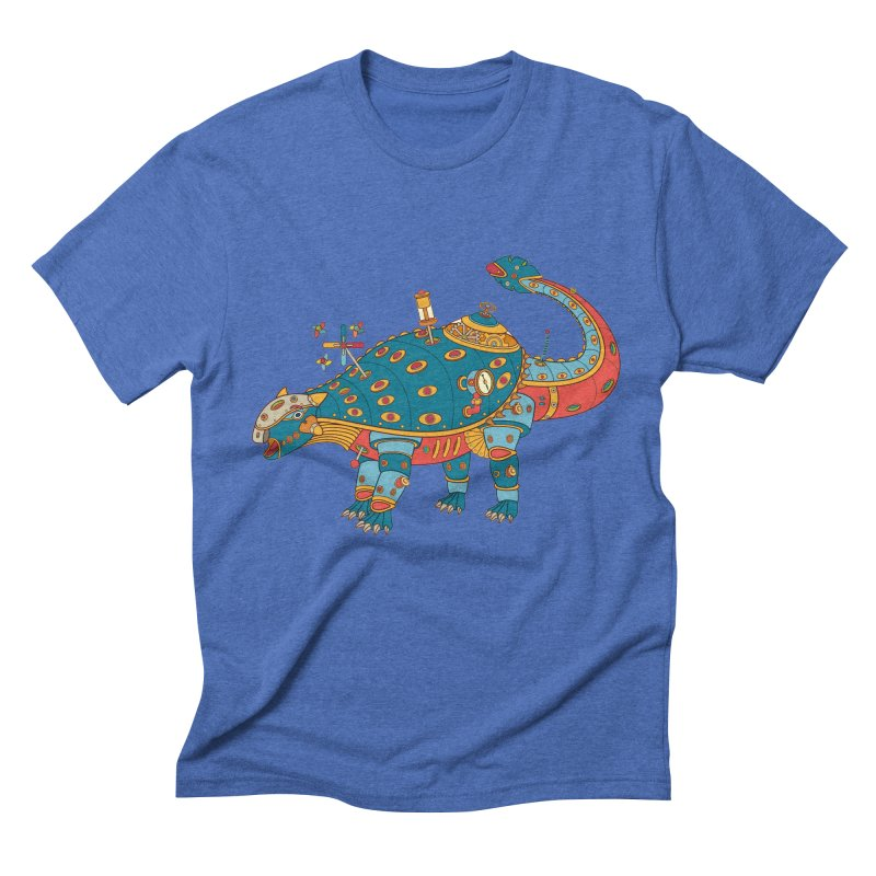 Dinosaur, cool wall art for kids and adults alike Men's Triblend T-shirt by AlphaPod