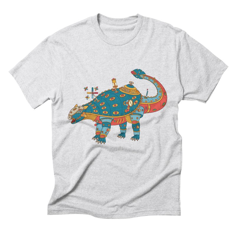 Dinosaur, cool art from the AlphaPod Collection Men's Triblend T-Shirt by AlphaPod