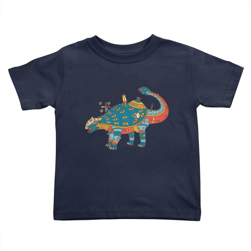 Dinosaur, cool wall art for kids and adults alike Kids Toddler T-Shirt by AlphaPod