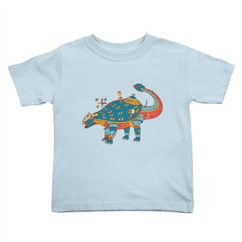 Dinosaur, cool art from the AlphaPod Collection Kids Toddler T-Shirt by AlphaPod