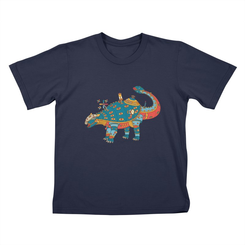 Dinosaur, cool art from the AlphaPod Collection Kids T-Shirt by AlphaPod
