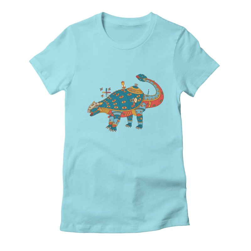 Dinosaur, cool art from the AlphaPod Collection Women's T-Shirt by AlphaPod