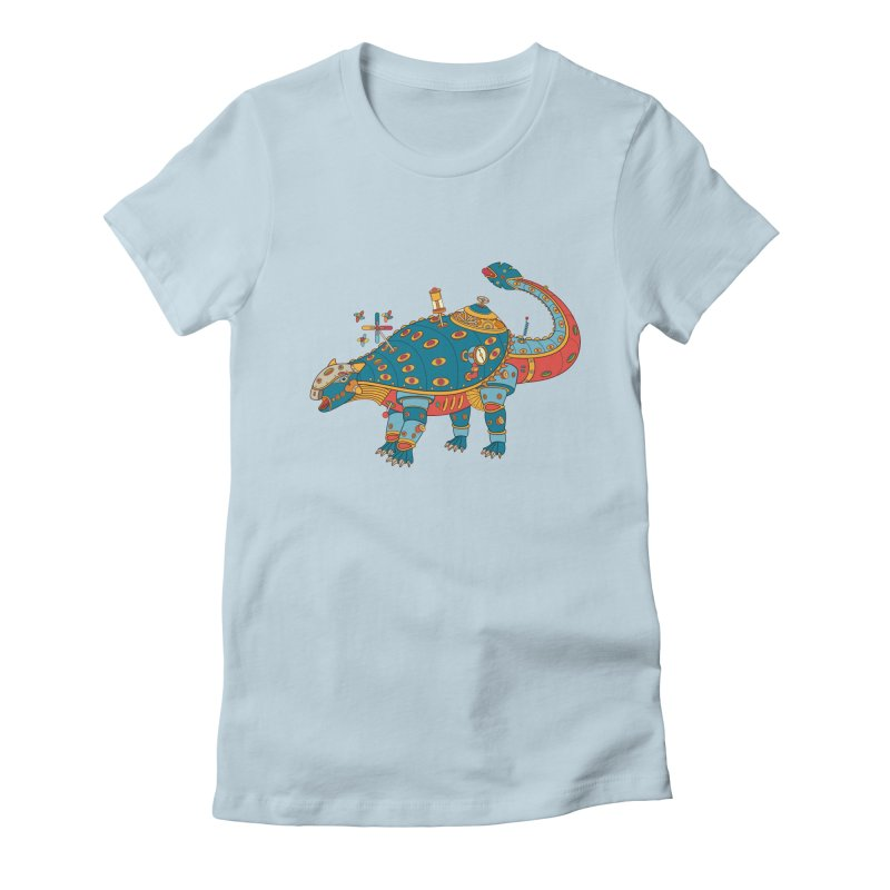 Dinosaur, cool art from the AlphaPod Collection Women's T-Shirt by AlphaPod