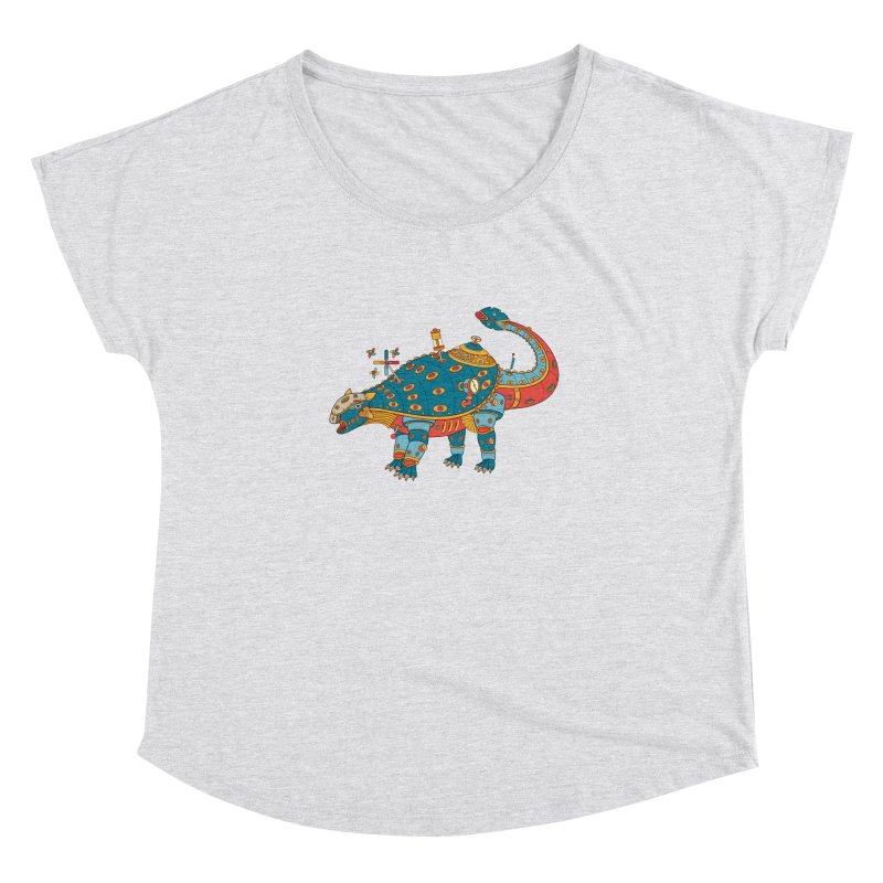 Dinosaur, cool wall art for kids and adults alike Women's Dolman by AlphaPod