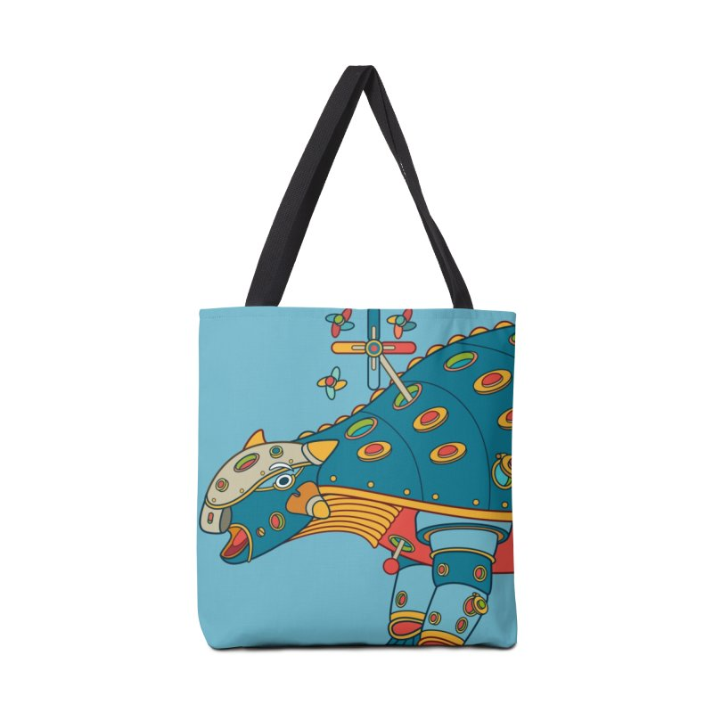 Dinosaur, cool art from the AlphaPod Collection Accessories Tote Bag Bag by AlphaPod