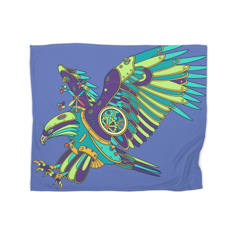 Eagle, cool wall art for kids and adults alike Home Blanket by AlphaPod