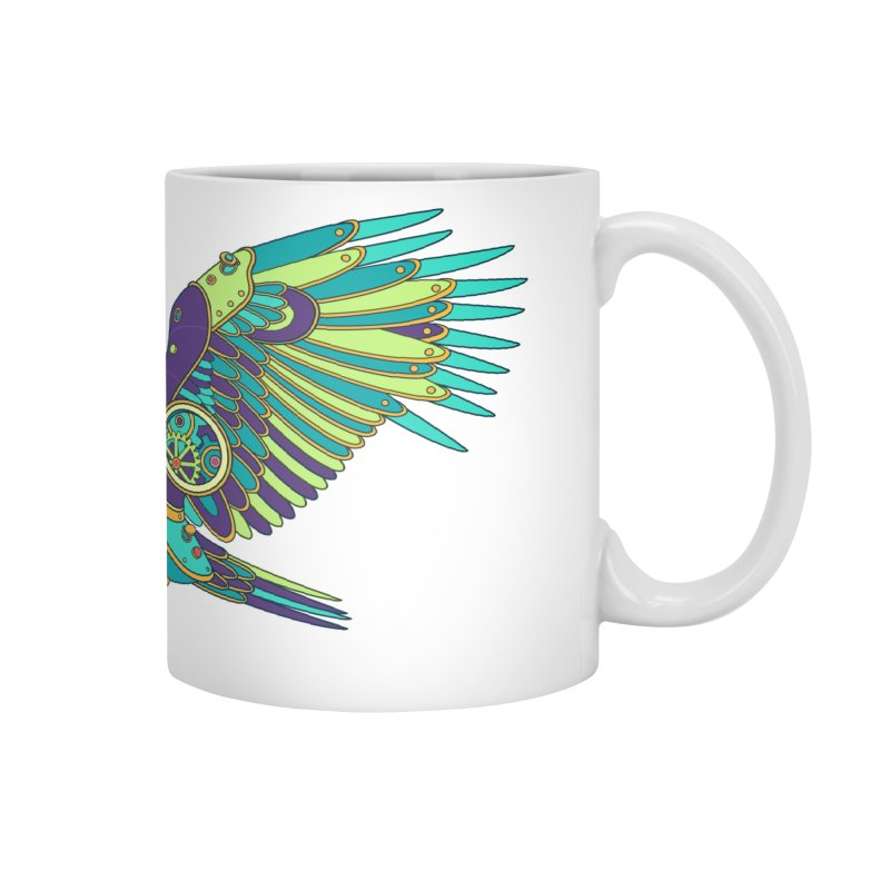 Eagle, cool art from the AlphaPod Collection Accessories Mug by AlphaPod