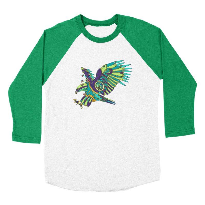 Eagle, cool art from the AlphaPod Collection Men's Baseball Triblend Longsleeve T-Shirt by AlphaPod