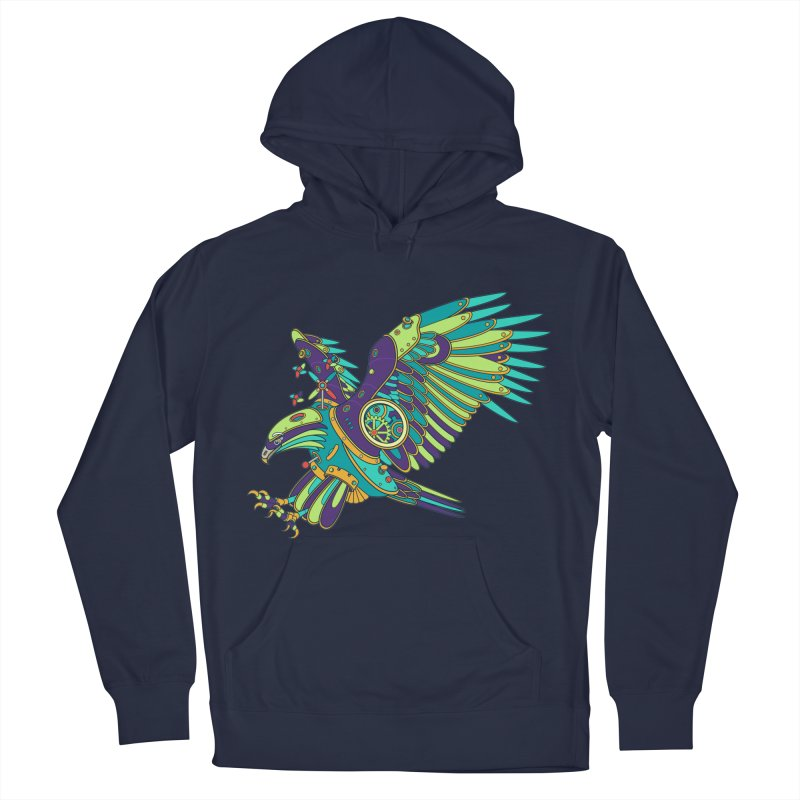 Eagle, cool art from the AlphaPod Collection Women's French Terry Pullover Hoody by AlphaPod