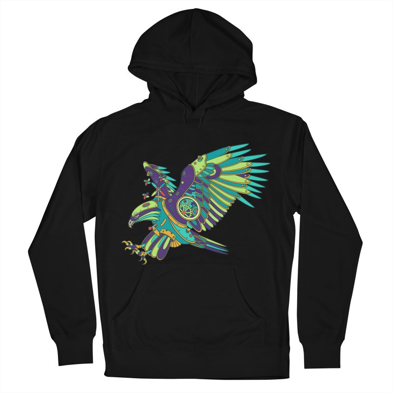 Eagle, cool art from the AlphaPod Collection Men's French Terry Pullover Hoody by AlphaPod