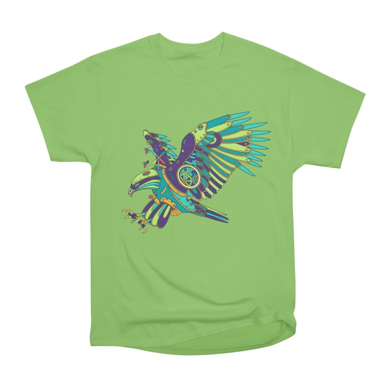 Eagle, cool art from the AlphaPod Collection Men's Heavyweight T-Shirt by AlphaPod