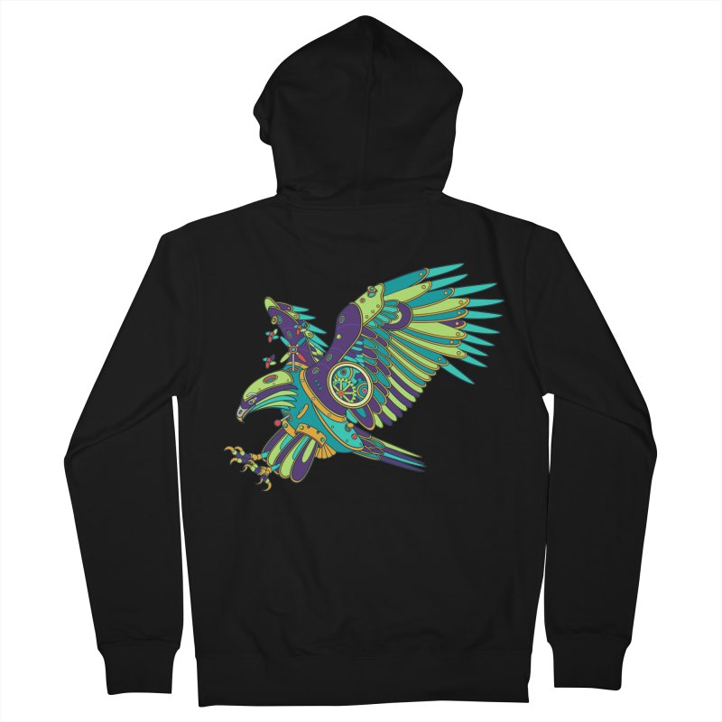 Eagle, cool art from the AlphaPod Collection Women's French Terry Zip-Up Hoody by AlphaPod