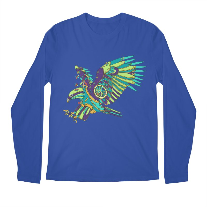 Eagle, cool art from the AlphaPod Collection Men's Longsleeve T-Shirt by AlphaPod