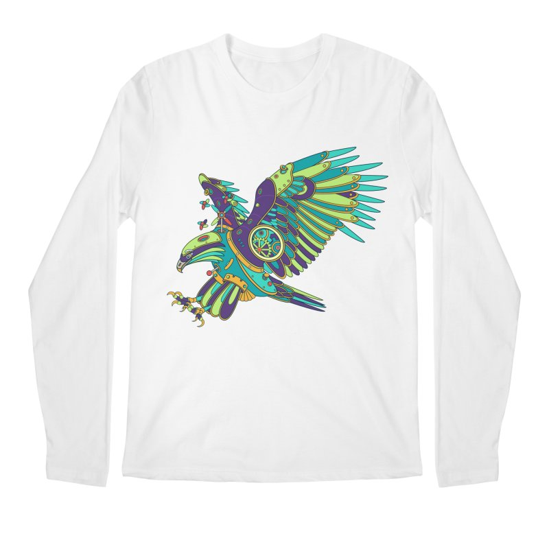 Eagle, cool art from the AlphaPod Collection Men's Regular Longsleeve T-Shirt by AlphaPod