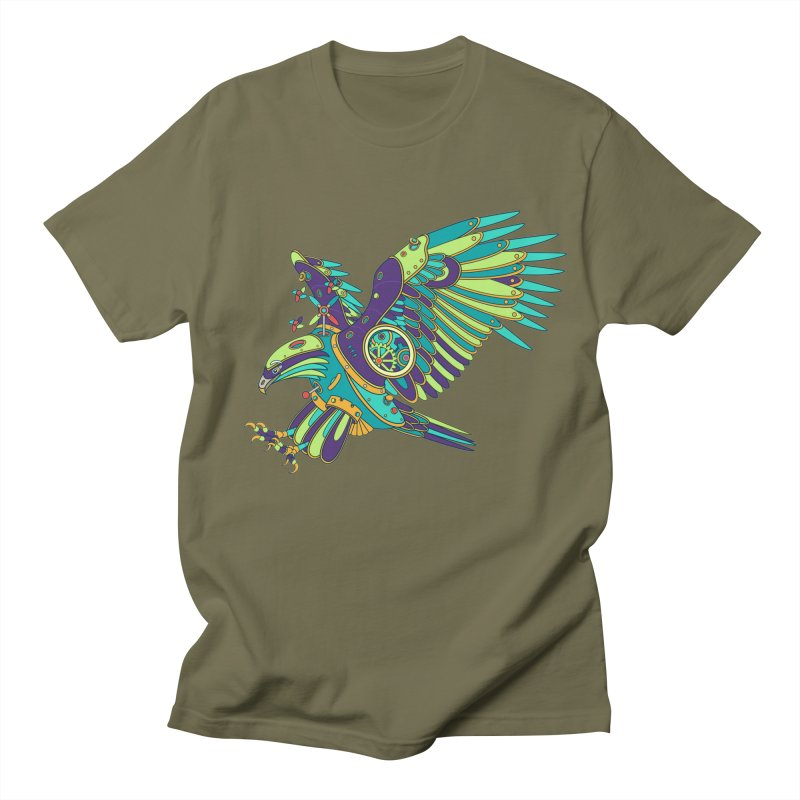 Eagle, cool art from the AlphaPod Collection Men's Regular T-Shirt by AlphaPod