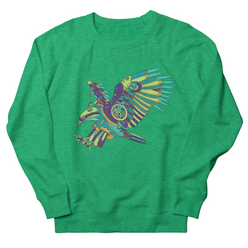 Eagle, cool art from the AlphaPod Collection Women's French Terry Sweatshirt by AlphaPod