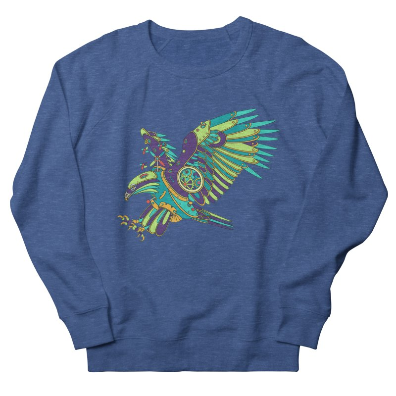 Eagle, cool art from the AlphaPod Collection Men's French Terry Sweatshirt by AlphaPod