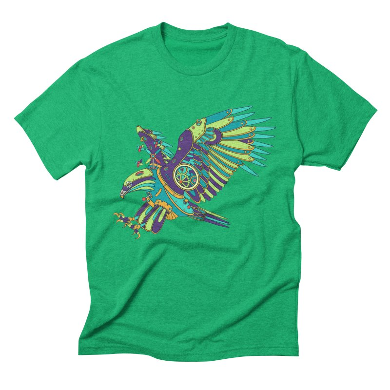 Eagle, cool art from the AlphaPod Collection Men's Triblend T-Shirt by AlphaPod