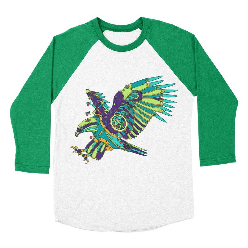 Eagle, cool art from the AlphaPod Collection Women's Baseball Triblend Longsleeve T-Shirt by AlphaPod