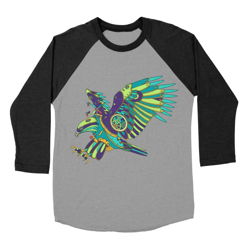 Eagle, cool art from the AlphaPod Collection Men's Baseball Triblend T-Shirt by AlphaPod