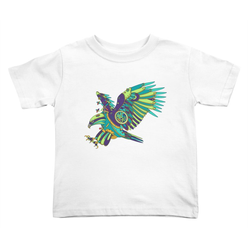 Eagle, cool art from the AlphaPod Collection Kids Toddler T-Shirt by AlphaPod