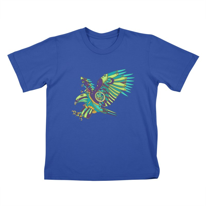 Eagle, cool art from the AlphaPod Collection Kids T-Shirt by AlphaPod