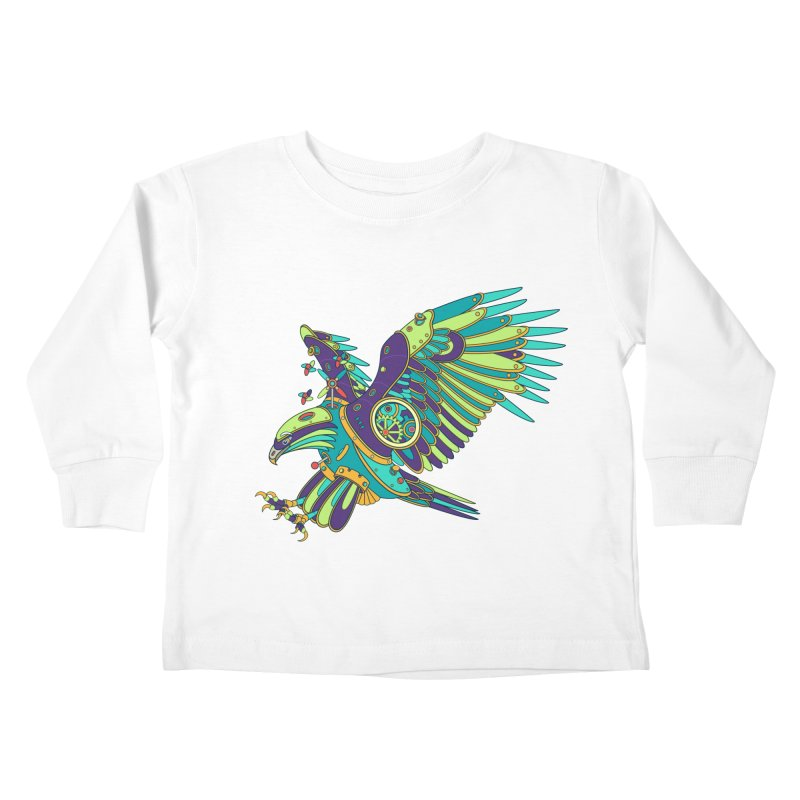 Eagle, cool wall art for kids and adults alike Kids Toddler Longsleeve T-Shirt by AlphaPod