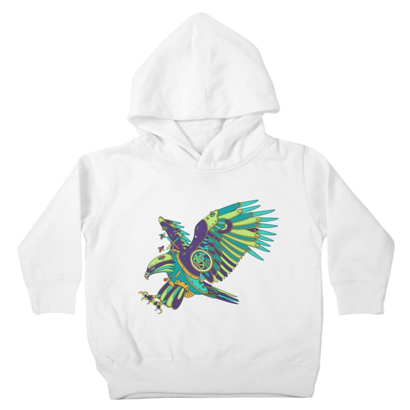 Eagle, cool art from the AlphaPod Collection Kids Toddler Pullover Hoody by AlphaPod