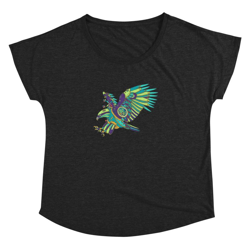 Eagle, cool art from the AlphaPod Collection Women's Dolman by AlphaPod