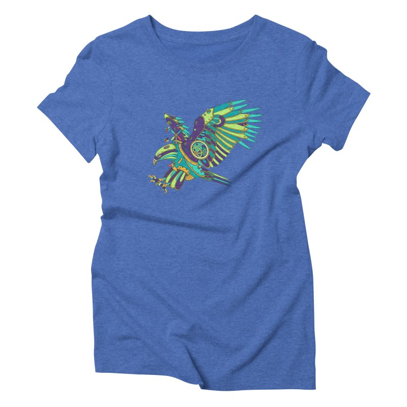 Eagle, cool art from the AlphaPod Collection Women's Triblend T-Shirt by AlphaPod