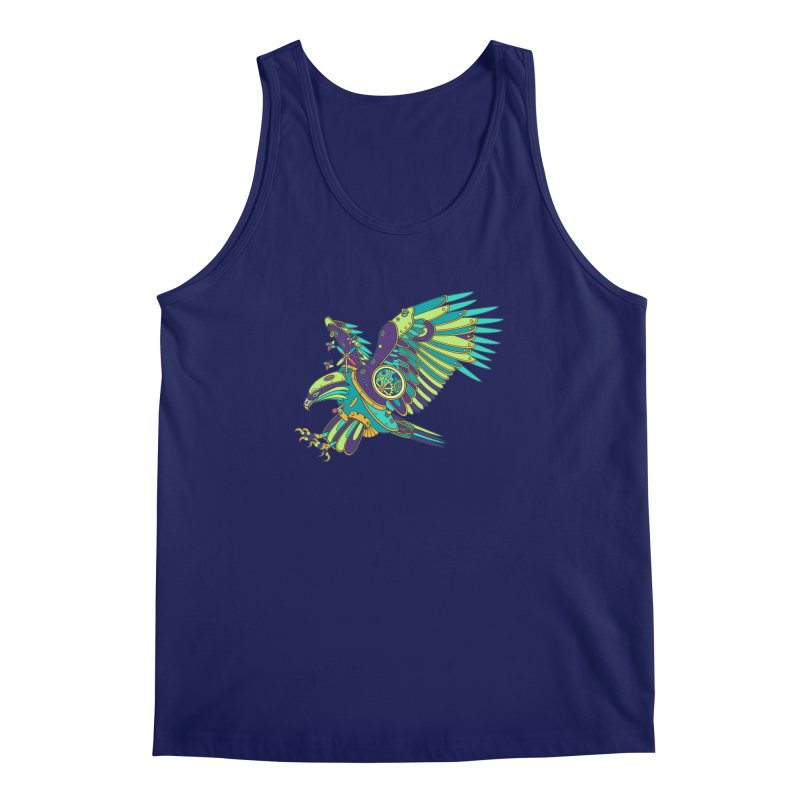 Eagle, cool art from the AlphaPod Collection Men's Regular Tank by AlphaPod