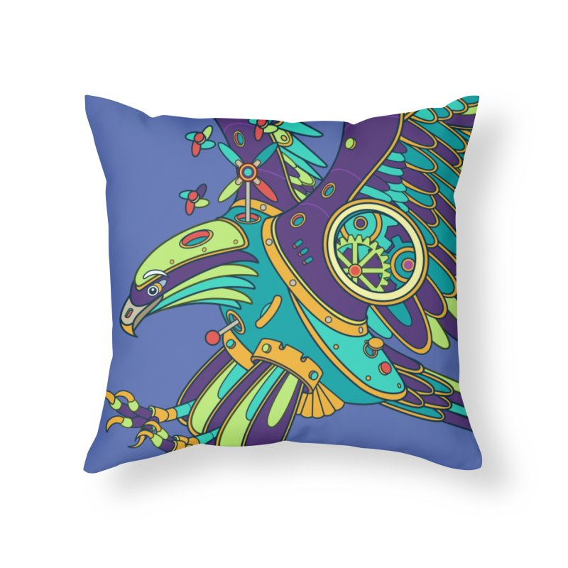 Eagle, cool art from the AlphaPod Collection Home Throw Pillow by AlphaPod