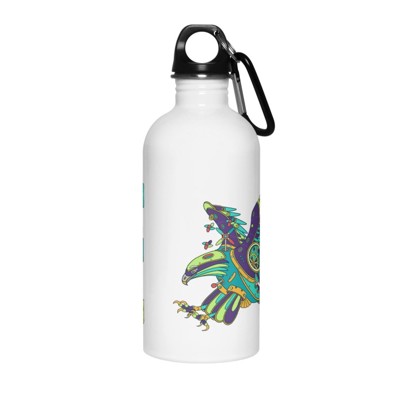 Eagle, cool art from the AlphaPod Collection Accessories Water Bottle by AlphaPod