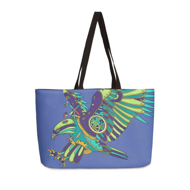 Eagle, cool art from the AlphaPod Collection Accessories Weekender Bag Bag by AlphaPod