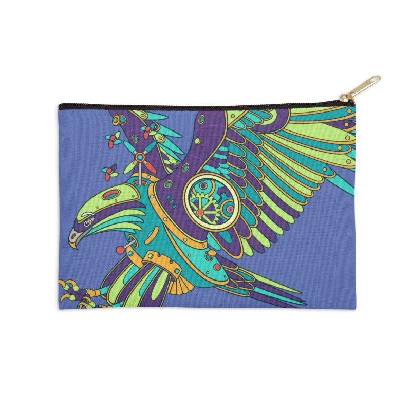Eagle, cool art from the AlphaPod Collection Accessories Zip Pouch by AlphaPod