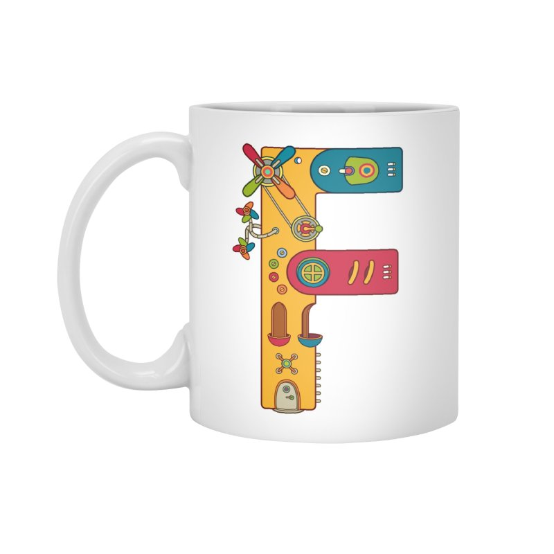 Frog, cool art from the AlphaPod Collection Accessories Mug by AlphaPod