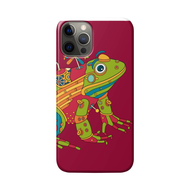 Frog, cool art from the AlphaPod Collection Accessories Phone Case by AlphaPod