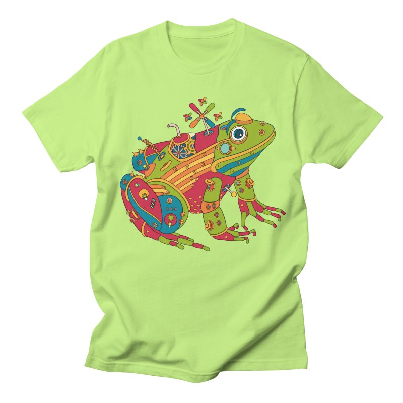 Frog, cool art from the AlphaPod Collection Men's T-Shirt by AlphaPod