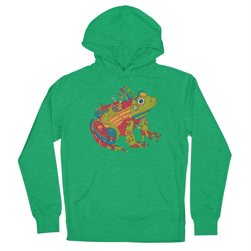 Frog, cool art from the AlphaPod Collection Men's Pullover Hoody by AlphaPod