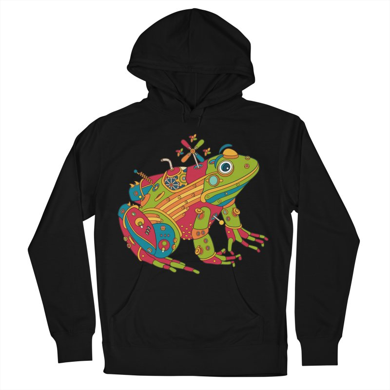 Frog, cool art from the AlphaPod Collection Women's Pullover Hoody by AlphaPod