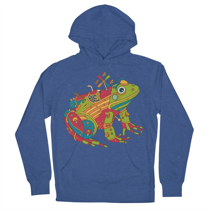 Frog, cool art from the AlphaPod Collection Men's French Terry Pullover Hoody by AlphaPod