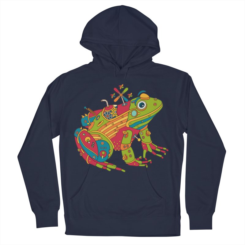Frog, cool wall art for kids and adults alike Men's Pullover Hoody by AlphaPod